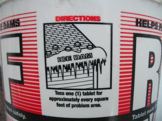 Roof Melt Tablet Instructions